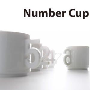 アッシュコンセプト ナンバーカップ(Number-cup)D-200/D-201【マグカップ】