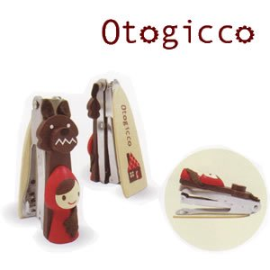 デコレ(DECOLE) オトギッコ(Otogicco)赤ずきん スタンドホッチキス