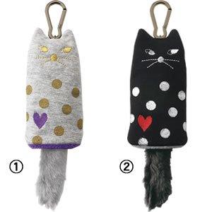 デコレ(DECOLE)miranda しっぽKEYケース 各種【猫グッズ/小物ファッション】