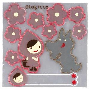 デコレ(DECOLE)オトギッコ(Otogicco)リフレクターステッカー