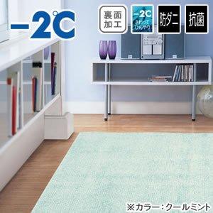 ひんやりラグマット(春・夏用)-2℃ サイクロンS【クールラグ】