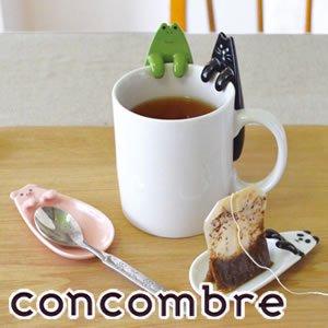 デコレ(DECOLE)concombre ティーバッグトレー【食器/マグカップ】