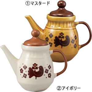 デコレ(DECOLE)クッカ・リントゥ ティーポット 各種【キッチン/洋食器】