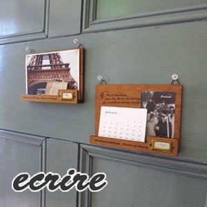 デコレ(DECOLE)エクリール 壁掛けカードホルダー【インテリア雑貨】