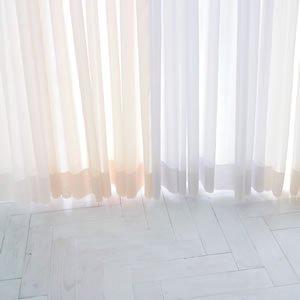 レースカーテン エリア 1枚入【北欧風カーテン】