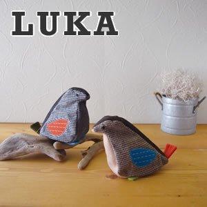 デコレ(DECOLE)LUKA とまり木ことりポーチ【北欧風雑貨】