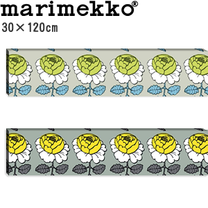 マリメッコ ファブリックパネル マーライスルース(Maalaisruusu)300×1200【北欧雑貨/北欧生地】
