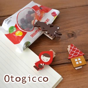 デコレ(DECOLE)オトギッコ(Otogicco)クリップセット【インテリア雑貨】