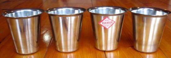 チャイカップ Sサイズ ステンレス製 2個で1セット