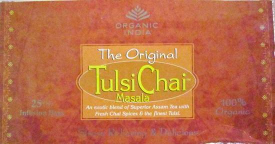 トゥルシ チャイマサラ オーガニックティー Tulsi Chai Masala Tea/Organic India