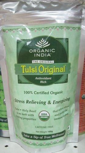 オーガニックインディア トゥルシーオリジナルオーガニックティー  Organic india Tulsi original tea 100…