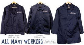 <img class='new_mark_img1' src='//img.shop-pro.jp/img/new/icons2.gif' style='border:none;display:inline;margin:0px;padding:0px;width:auto;' />All Navy Workers JK & Coat