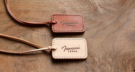 Leather Ornament Tag