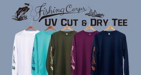 <img class='new_mark_img1' src='https://img.shop-pro.jp/img/new/icons2.gif' style='border:none;display:inline;margin:0px;padding:0px;width:auto;' />Fishing Corps UV Cut & Dry Tee