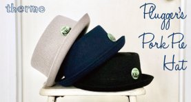 <img class='new_mark_img1' src='https://img.shop-pro.jp/img/new/icons2.gif' style='border:none;display:inline;margin:0px;padding:0px;width:auto;' />Plugger's Pork Pie Hat - Thermo
