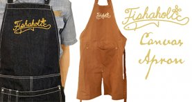 <img class='new_mark_img1' src='https://img.shop-pro.jp/img/new/icons2.gif' style='border:none;display:inline;margin:0px;padding:0px;width:auto;' />Fishaholic Canvas Apron
