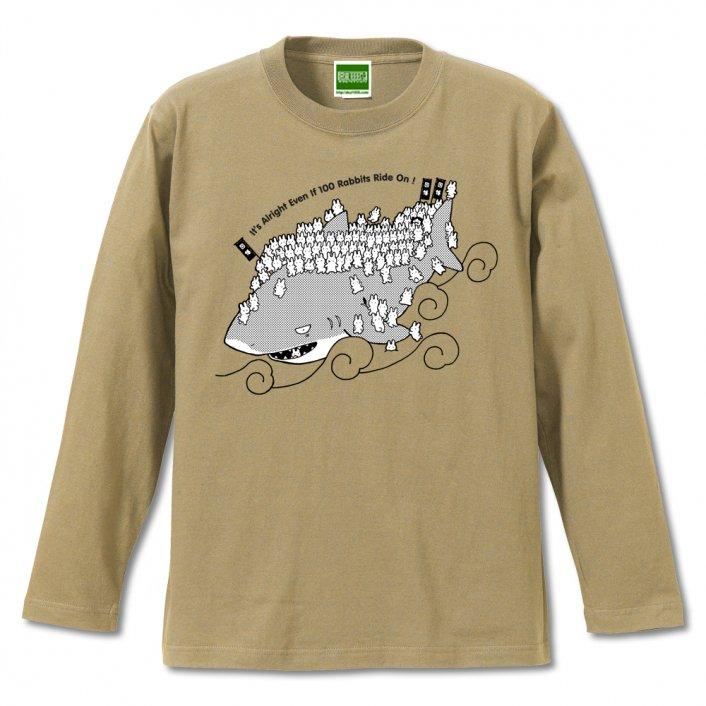 イナバのしろうさぎ/長袖Tシャツ