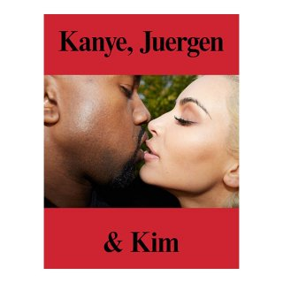 IDEA / KANYE, JUERGEN & KIM by Juergen Teller<img class='new_mark_img2' src='https://img.shop-pro.jp/img/new/icons22.gif' style='border:none;display:inline;margin:0px;padding:0px;width:auto;' />