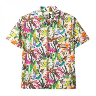 REAL BAD MAN Psychedelica Vacation Button Down Shirts