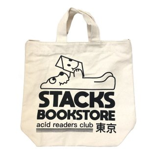 """stacks Ignorance 1 """"Stacks bookstore"""" Tote Bag<img class='new_mark_img2' src='https://img.shop-pro.jp/img/new/icons47.gif' style='border:none;display:inline;margin:0px;padding:0px;width:auto;' />"""
