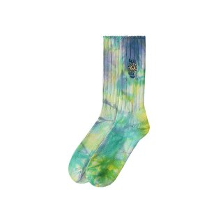 REAL BAD MAN Delic Sun Tie Dye & Embroidered Socks<img class='new_mark_img2' src='https://img.shop-pro.jp/img/new/icons5.gif' style='border:none;display:inline;margin:0px;padding:0px;width:auto;' />