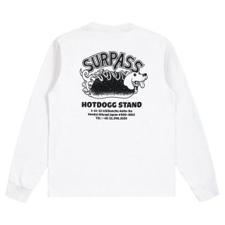 Surpass HotDogg Stand Dachshund Adress L/S Tee<img class='new_mark_img2' src='https://img.shop-pro.jp/img/new/icons5.gif' style='border:none;display:inline;margin:0px;padding:0px;width:auto;' />