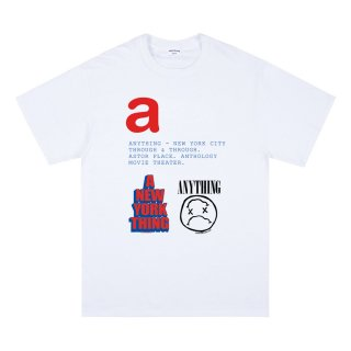 """aNYthing a-z """"a"""" S/S Tee<img class='new_mark_img2' src='https://img.shop-pro.jp/img/new/icons5.gif' style='border:none;display:inline;margin:0px;padding:0px;width:auto;' />"""