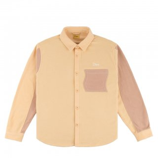 Dime Polar Fleece Button Up Shirt<img class='new_mark_img2' src='https://img.shop-pro.jp/img/new/icons5.gif' style='border:none;display:inline;margin:0px;padding:0px;width:auto;' />