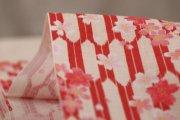 桜/矢絣/赤