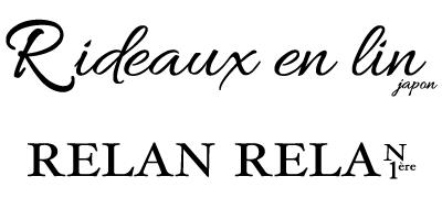 Rideaux en lin リドアンラン  RELAN  RELAN リラン リラン|Online shop