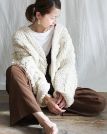 SOLD OUT!!Klaha  Cable Cardigan