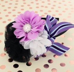キャンディフラワーカチューシャ Purple