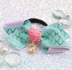 Princess Inspired 1/ 人魚姫のシェルチャームヘアゴム