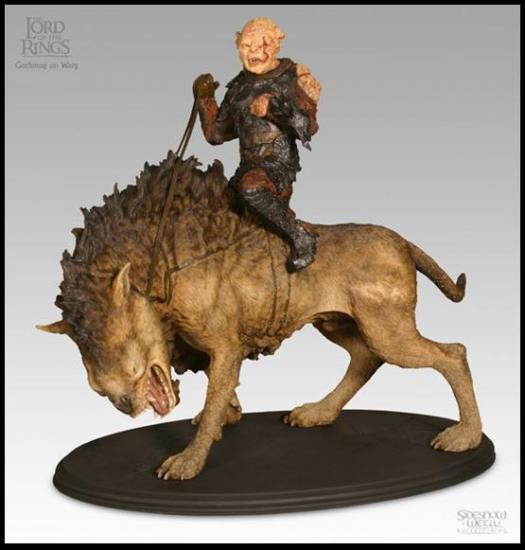 ゴスモグ・オン・ワーグ スタチュー The Lord Of The Rings Statue:Gothmog On Warg