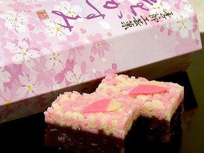 季節工芸菓「花かすみ」
