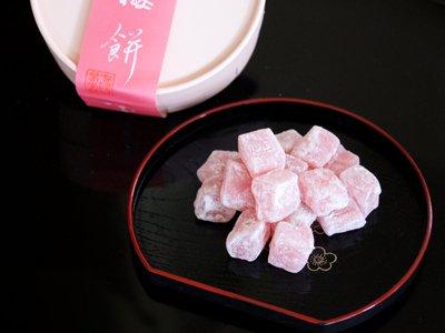 京銘菓「紅梅餅」