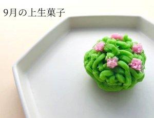 上生菓子 9月