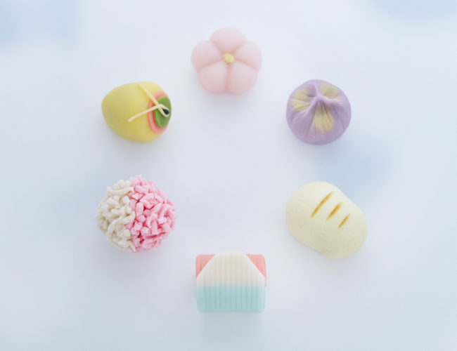 迎春上生菓子