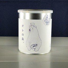 クッキーアソート缶(四角い)