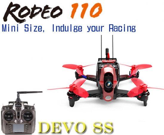 Walkera  Rodeo 110  (DEVO用)+DEVO8S (8ch プロポ)