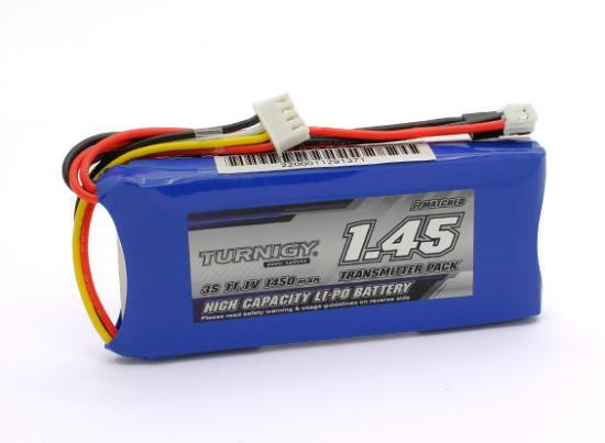 Turnigy 1450mAh 3S(3セル/11.1V)   Transmitter (送信機用)  リポバッテリー ×1本