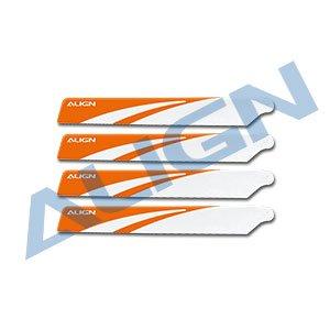 メインブレード 白/HD123B120 Main Blades-White (T-REX 150用)