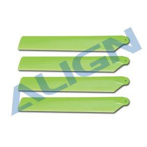 メインブレード 緑/ HD123C120 Main Blades-Green(T-REX 150用)