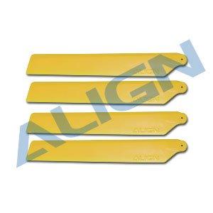 メインブレード 黄/HD123D120 Main Blades-Yellow (T-REX 150用)