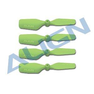 テールブレード 緑/HQ0203B 20 Tail Blade-Green(T-REX 150用)