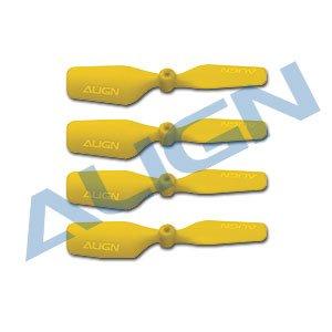 テールブレード 黄/HQ0203C 20 Tail Blade-Yellow(T-REX 150用)