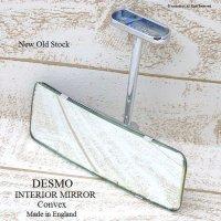 DESMO/デスモ クローム インテリア コンベックス ルームミラー デッドストック未使用