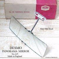 DESMO No.225 PANORAMA MIRROR/デスモ インテリア パノラマ ルームミラー デッドストック 箱入り