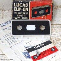 60's LUCAS CLIP-ON/ルーカス スイッチパネル デッドストック BOX入り