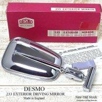 DESMO EXTERIOR DRIVING MIRROR/デスモ クリップオン ドライビング ミラー デッドストック 箱付